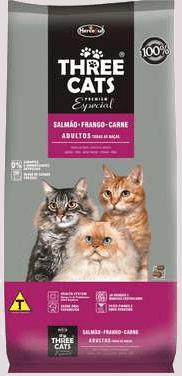 onde comprar a ração three cats barata