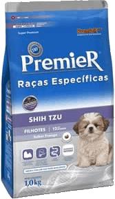 ração para Shih Tzu Premier ou Royal Canin
