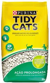 areia tidy cats para gatos