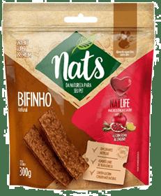 Bifinho Natural Nats NatLife para Cães