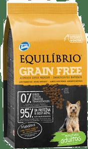 ração equilíbrio grain free é boa
