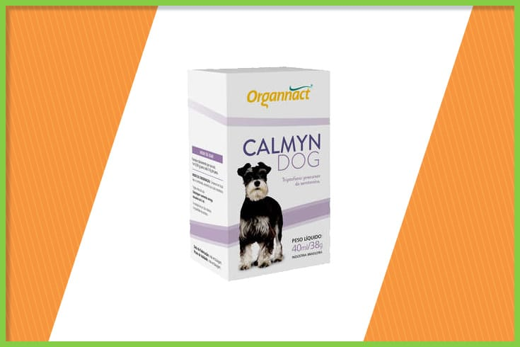 calmyn dog organnact