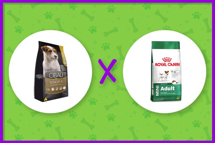 ração Cibau ou Royal Canin