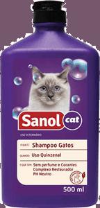 shampoo sanol gatos